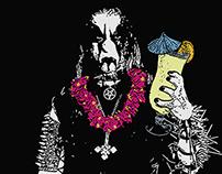Heavy Metal Tiki Party Flyer, 2014