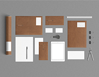 Stationery Mock Up - Kraft Paper