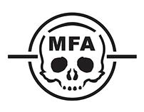 MFA Stencil Logo, 2014