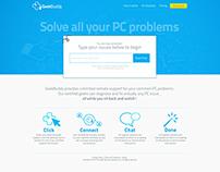 GeekBuddy - Website Design