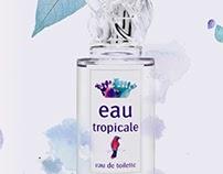 "SISLEY • Dossier de Presse ""eau tropicale"""