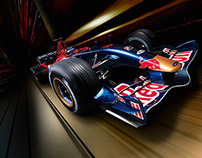 Red Bull Formula One - Design & Branding