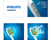 Philips Flexcare flash banners