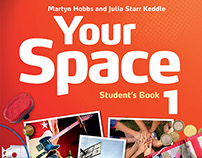Cover designs for course book for teenagers