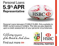 HSBC flash banner ads