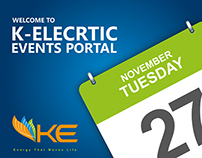 KElectric Events Portal