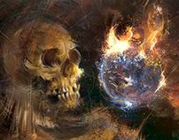 """Artwork """"Blackstarr & the new Black, Wille Zur Macht"""""""