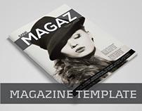 Magazine Template Vol.07
