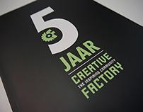 Magazine, 5th anniversary Creative Factory