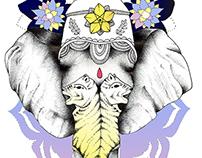 Illustrations for Pipa & Rama