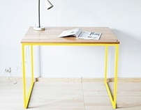 Table, office desk, Industrial Colours