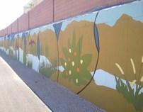 Natural Wash Mural