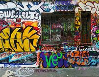 Pyrénées Graffiti Panorama