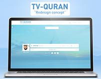 TV-QURAN (Redesign Concept)