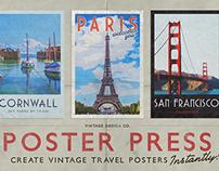 PosterPress - Vintage Travel Posters