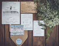 Lake Haus Wedding Invitations