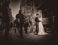 Wedding at Budapest