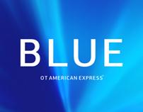 BLUE / welcome envelope