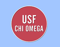 USF Chi Omega Bid Day 2014 Title Sequence