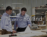 BANK of HOLLAND – Outdoor & Print Advertising Campaign