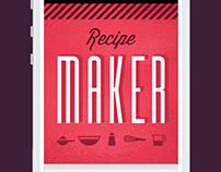 Recipe Maker UX