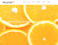NEW WEBSITE AGRUMES