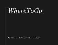 WhereToGo Project- Service Design