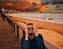 The scream... Tribute to E. Munch