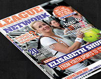 League Network magazine cover