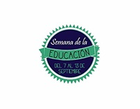 """Campaña """"Semana de la Educación"""""""