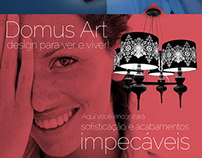 Domus Art - artigos de vidro para decoração, luminárias
