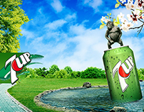 7UP Sarcastic Poster