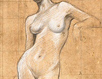 Study of a nude model