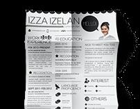 2014 RESUME/CV DESIGN: Izza Izelan