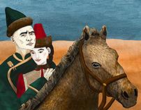 Вези нас, махровый лошад / Love. Horse. Tuvinians