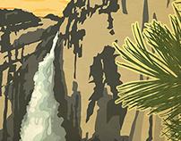 "FITS Socks National Parks - ""Yosemite"""