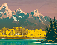 "FITS Socks National Parks - ""Grand Teton"""