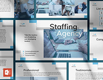 Staffing Agency PowerPoint Presentation Template
