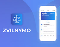 Zvilnymo - mobile application for law company