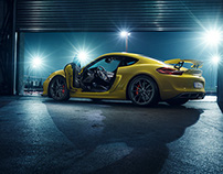 Porsche Cayman GT4 Catalogue