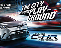 Toyota CHR Car - Giveaways