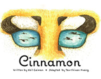 Adapted children narrative Cinnamon Neil Gaiman 2015