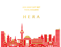 "HERA ""Travel exclusive"" gift set"