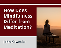 How Does Mindfulness Differ From Meditation?