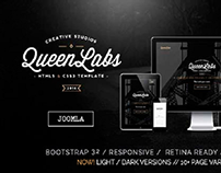 Queen - One Page Parallax Responsive Template