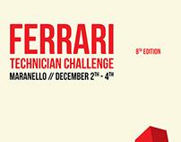 Ferrari Technician Challenge Poster