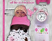 Infographic Birth Announcements
