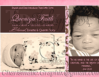 Bible Verse Birth Announcements