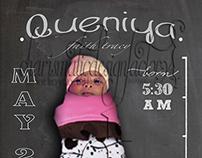 Chalkboard Birth Announcements