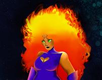 Estelar - DC Comics Outfit Redesign